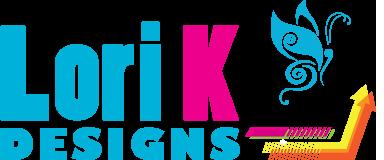 Lori K Designs Retina Logo
