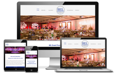 BEL Events Website Redesign