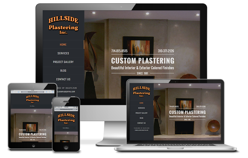 Hillside Plastering Inc.