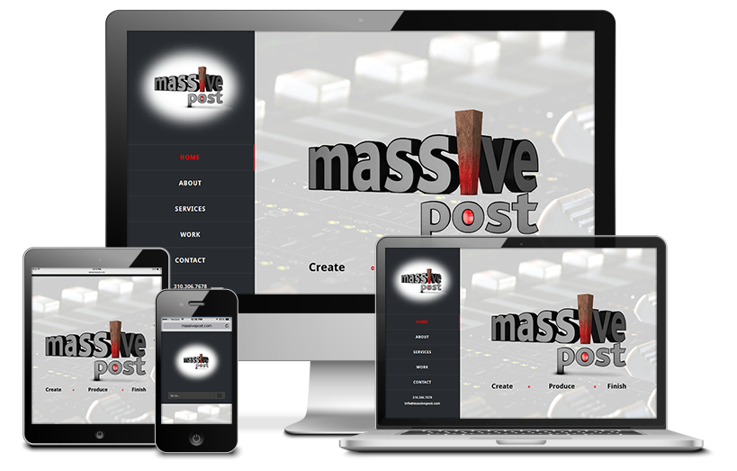 Massive Post Productions Redesign